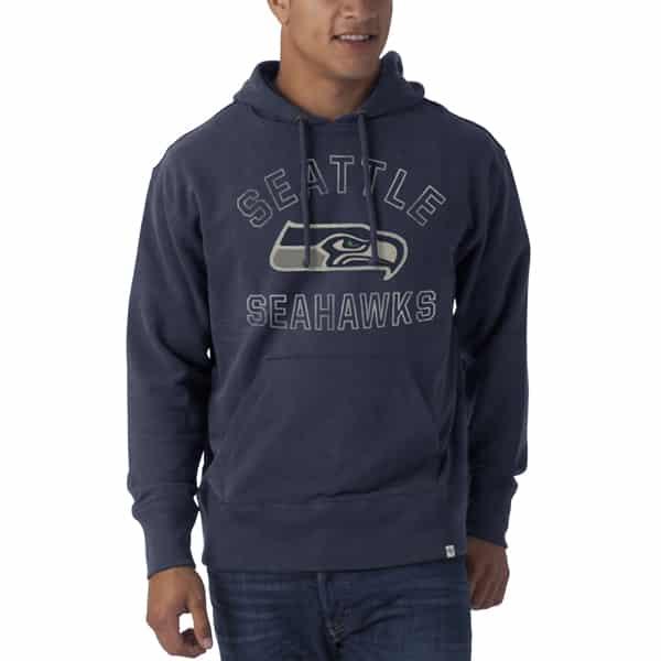 Seattle Seahawks Striker Pullover Mens Midnight 47 Brand