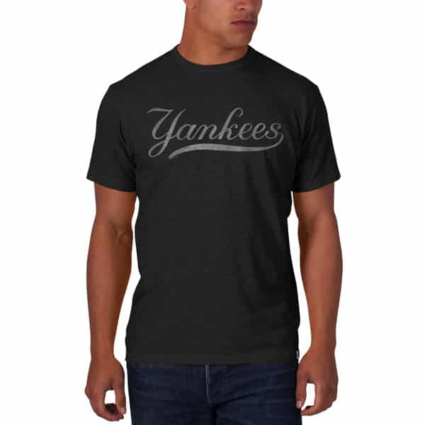 New York Yankees Scrum T-Shirt Mens Charcoal 47 Brand