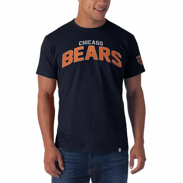 Chicago Bears Allbright Fieldhouse T-Shirt Mens Fall Navy 47 Brand