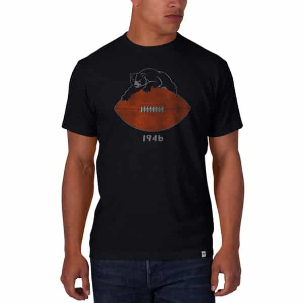 Chicago Bears Scrum T-Shirt Mens Fall Navy 47 Brand