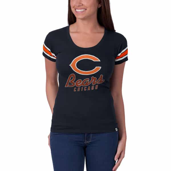 Chicago Bears Off Campus Scoop Womens Fall Navy 47 Brand