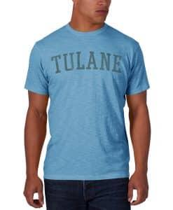 Tulane Green Wave Scrum T-Shirt Mens Carolina 47 Brand