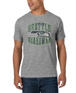 Seattle Seahawks Varsity Scrum Mens Ash 47 Brand