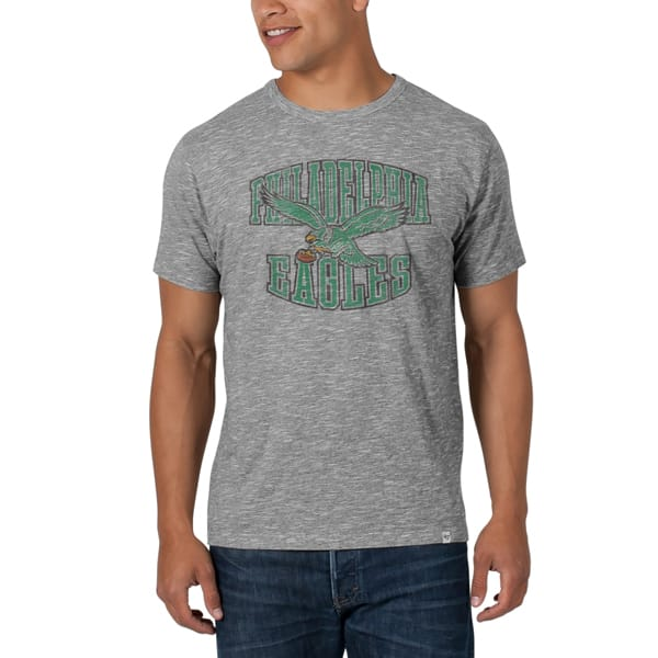 Philadelphia Eagles Varsity Scrum Mens Ash 47 Brand