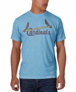 St. Louis Cardinals Scrum T-Shirt Mens Carolina 47 Brand