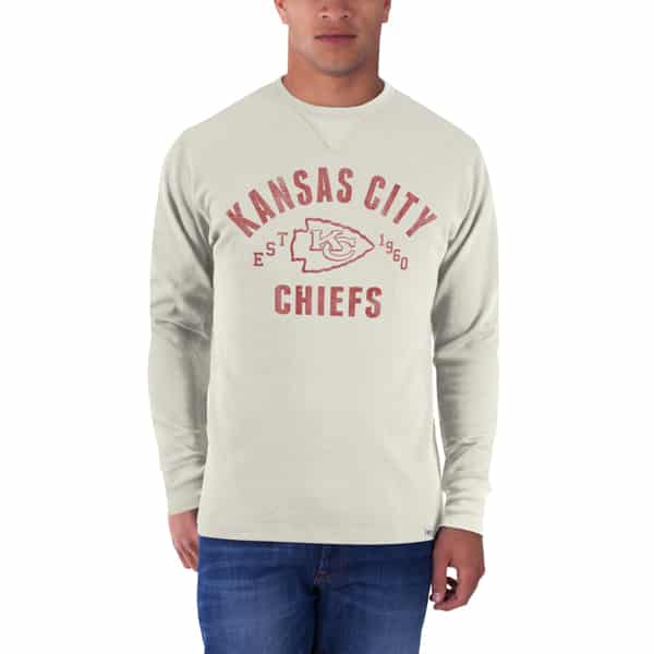 Kansas City Chiefs Stadium Waffle Mens Sandstone 47 Brand