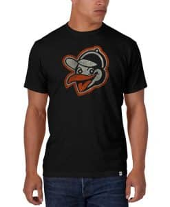 Baltimore Orioles Scrum T-Shirt MenBaltimore Orioles Scrum T-Shirt Mens Jet Black 47 Brands Jet Black 47 Brand