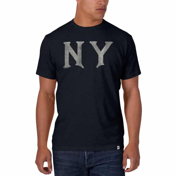 New York Yankees Scrum T-Shirt Mens Fall Navy 47 Brand