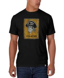 Pittsburgh Pirates Men's 47 Brand Black Scrum T-Shirt Tee