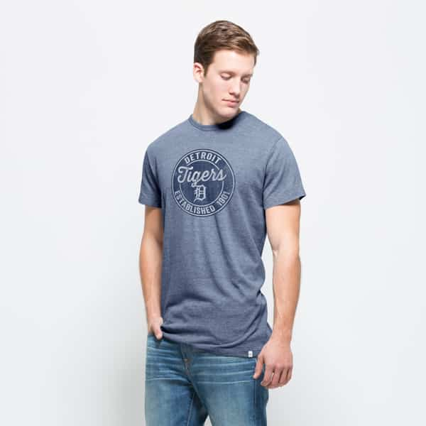 Detroit Tigers Tri-State T-Shirt Mens Nightfall 47 Brand