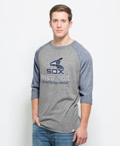 Chicago White Sox Union Baseball T-Shirt Mens Vintage Grey 47 Brand