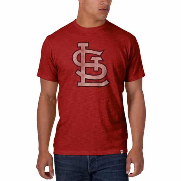 St. Louis Cardinals Scrum T-Shirt Mens Rescue Red 47 Brand