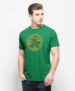 Oakland Athletics Scrum T-Shirt Mens Kelly 47 Brand
