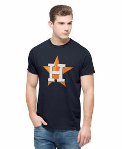 Houston Astros All Pro Flanker T-Shirt Mens Fall Navy 47 Brand