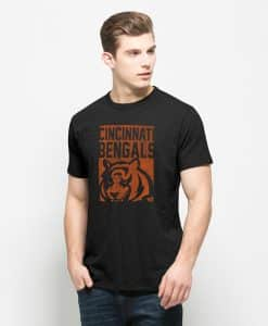 Cincinnati Bengals Scrum T-Shirt Mens Jet Black 47 Brand