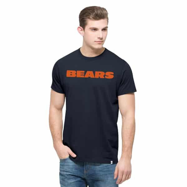 Chicago Bears Crosstown Mvp T-Shirt Mens Fall Navy 47 Brand