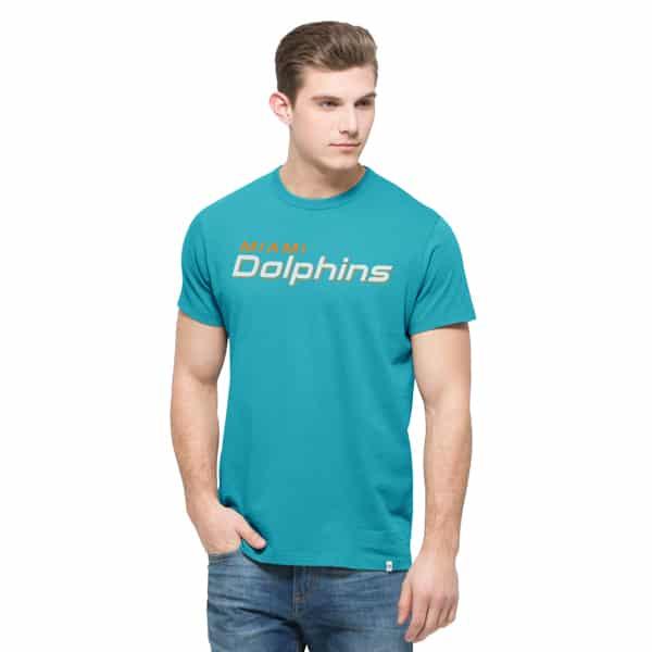 Miami Dolphins Crosstown Mvp T-Shirt Mens Neptune 47 Brand