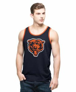 Chicago Bears Crosstown Tank Top Mens Fall Navy 47 Brand