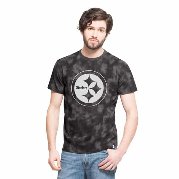 Pittsburgh Steelers Blackstone T-Shirt Mens Blackstone 47 Brand