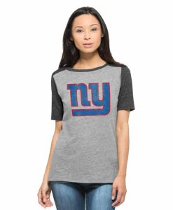 New York Giants Empire T-Shirt Womens Vintage Grey 47 Brand
