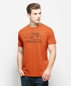 Cincinnati Bengals Scrum T-Shirt Mens Carrot 47 Brand