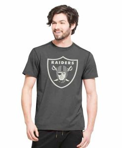 Oakland Raiders High Point T-Shirt Mens Shift Black 47 Brand