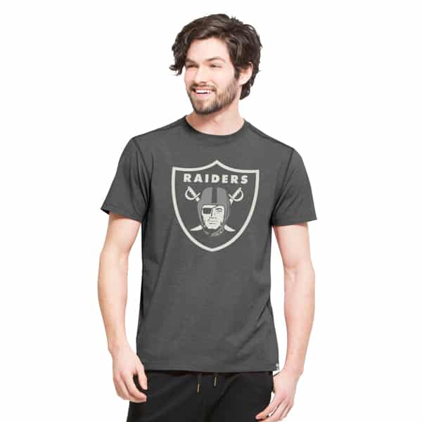 Oakland Raiders High Point T-Shirt Mens Shift Black 47 Brand