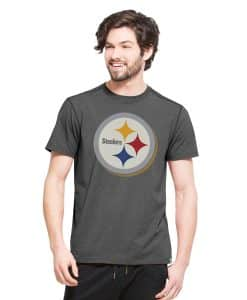 Pittsburgh Steelers High Point T-Shirt Mens Shift Black 47 Brand
