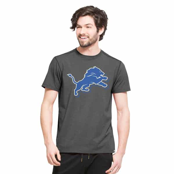 Detroit Lions High Point T-Shirt Mens Shift Black 47 Brand