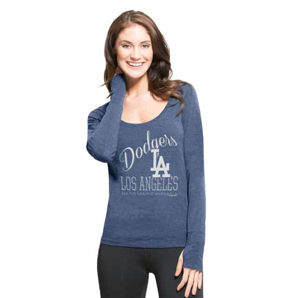 Los Angeles Dodgers Dash Long Sleeve T-Shirt Womens