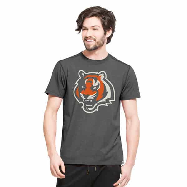 Cincinnati Bengals High Point T-Shirt Mens Shift Black 47 Brand