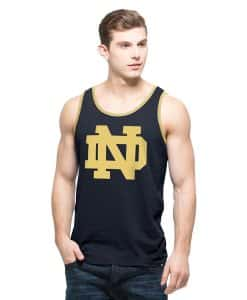 Notre Dame Fighting Irish Men's 47 Brand Navy Tank Top