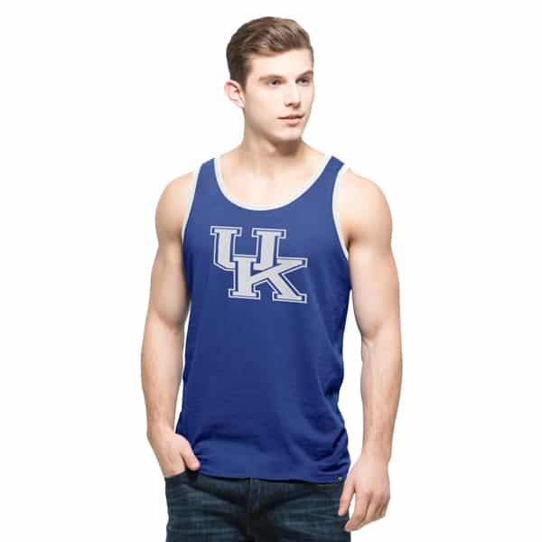 Kentucky Wildcats Crosstown Tank Top Mens Booster Blue 47 Brand