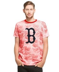Boston Red Sox Aloha T-Shirt Slim Fit Polar White 47 Brand