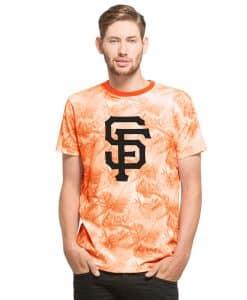San Francisco Giants Aloha T-Shirt Slim Fit Polar White 47 Brand