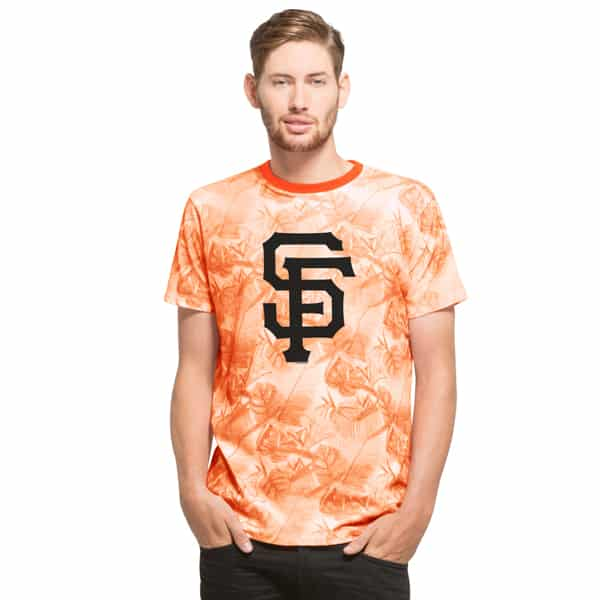San Francisco Giants Aloha T-Shirt Slim Fit Polar White 47 Brand