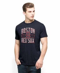 Boston Red Sox Scrum T-Shirt Mens Fall Navy 47 Brand