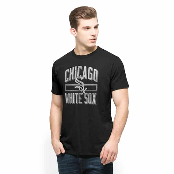 Chicago White Sox Scrum T-Shirt Mens Jet Black 47 Brand