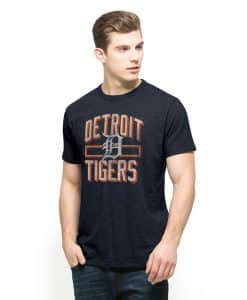 Detroit Tigers Scrum T-Shirt Mens Fall Navy 47 Brand