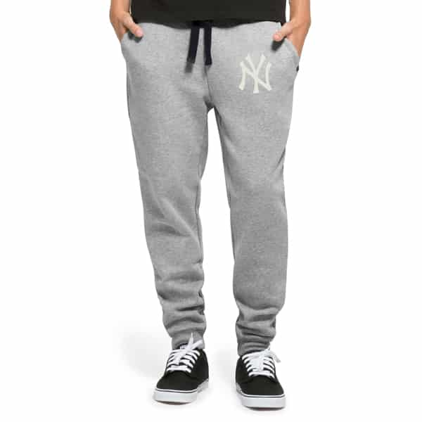 New York Yankees Gamebreak Cross-Check Pant Mens Slate Grey 47 Brand