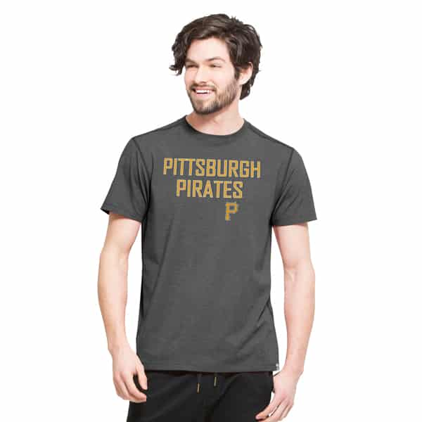 Pittsburgh Pirates High Point T-Shirt Mens Shift Black 47 Brand