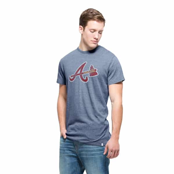 Atlanta Braves Tri-State T-Shirt Mens Nightfall 47 Brand