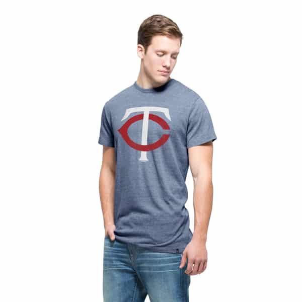 Minnesota Twins Tri-State T-Shirt Mens Nightfall 47 Brand