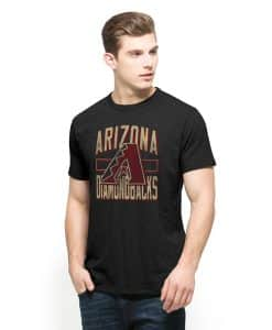 Arizona Diamondbacks Scrum T-Shirt Mens Jet Black 47 Brand