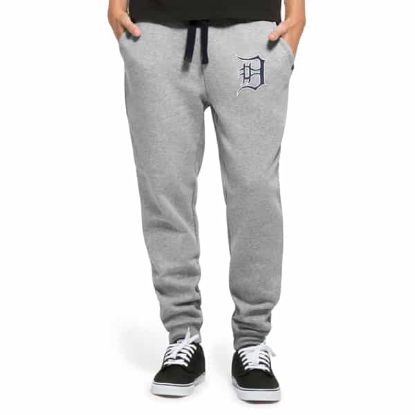 Detroit Tigers Gamebreak Cross-Check Pant Mens Slate Grey 47 Brand