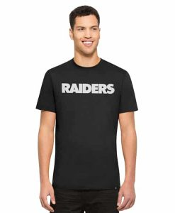 Oakland Raiders Crosstown Mvp T-Shirt Mens Jet Black 47 Brand