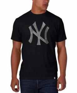New York Yankees Scrum T-Shirt Mens Fall Navy 47 Brand