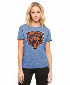 Chicago Bears Mvp Hero T-Shirt Womens Coastal Blue 47 Brand