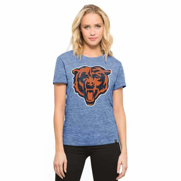 separation shoes c2e31 edbf2 Chicago Bears Mvp Hero T-Shirt Womens Coastal Blue 47 ...