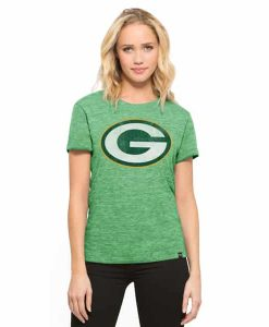 Green Bay Packers Mvp Hero T-Shirt Womens Cash Green 47 Brand